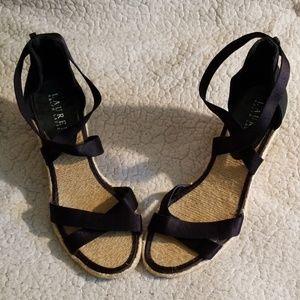 Lauren Ralph Lauren wedge sandals